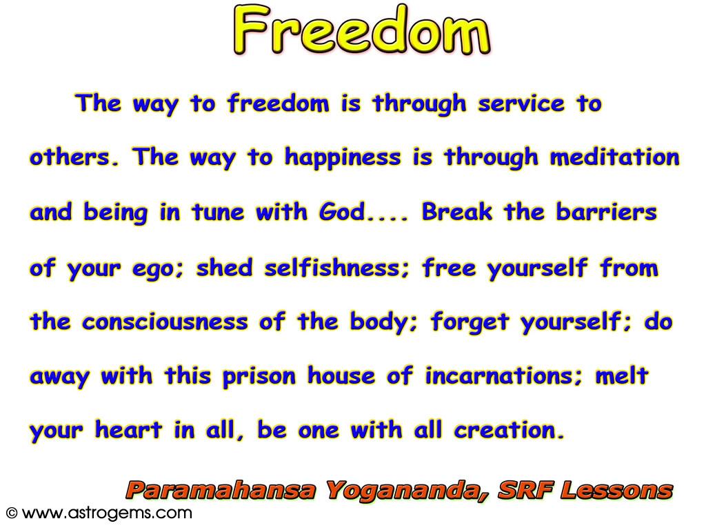 Yogananda Affirmation